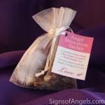 Use this sachet to ask for the angels assistance in finding love in your life. ($5.95)